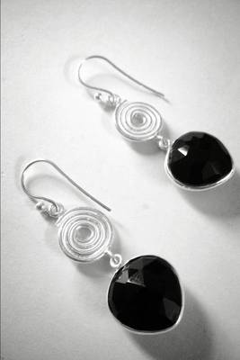 92.5 sterling silver with black onex