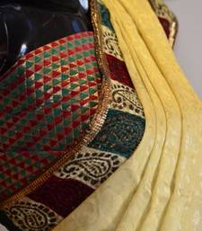 Buy GOLD STATEMENT silk-saree online
