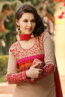 Unstitched and Semi Stitched Salwar Suits by Nirali 501 Series
