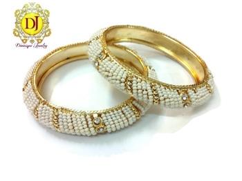 Pearl n cz Bracelets