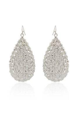 Just Women silver color metal bohomeian earrings