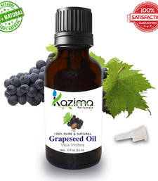 Buy Grapeseed essential oil (15ml) 100% pure natural and undiluted oil essential-oil online