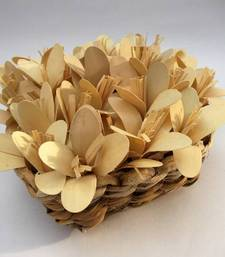 Buy Natural flower filled deco bowl flower-arrangement online