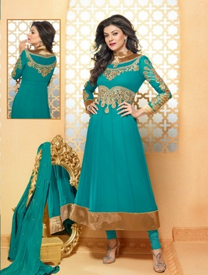 Sushmita Sen Party Wear Designer Anarkali