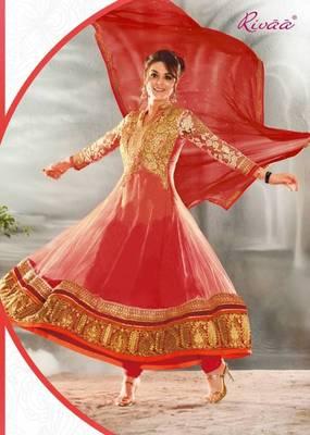 Bollywood Actress Preity Zinta Party Wear Designer Anarkali
