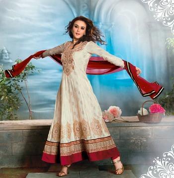 Priety Zinta Aweosme Designer Anarkali