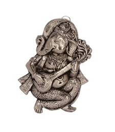 eCraftIndia Wall Hanging Ganesha playing Veena