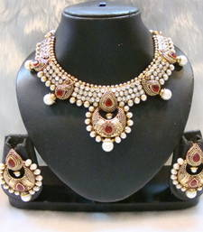 Buy Design no. 38.983....Rs. 3250 necklace-set online