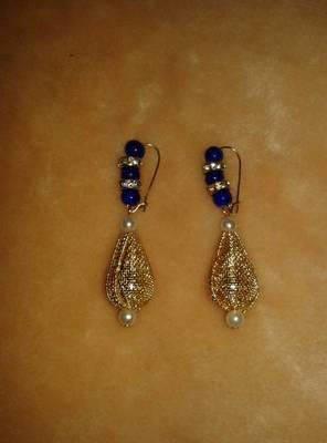 fancy antic earring
