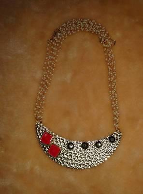 fancy antic neckline