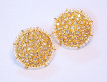 Celebrity Classic and elegant FINE CZ collection earring dangler jewelry