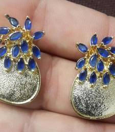 Buy MONTANA BLUE GOLDEN EARRING  stud online