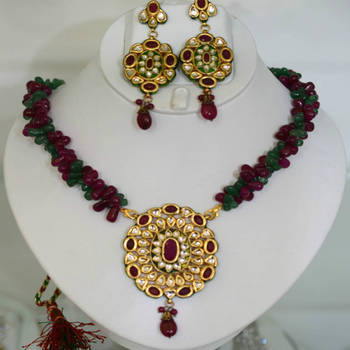 Reds and Greens Pendant saet