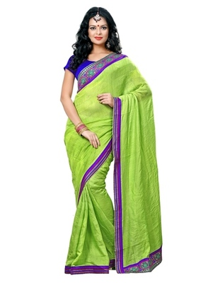 Triveni Adorable Contrast Sleek Bordered Cotton Saree TSN6003