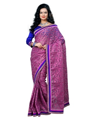 Triveni Evoking Lace Bordered Cotton Jacquard Saree TSN6017
