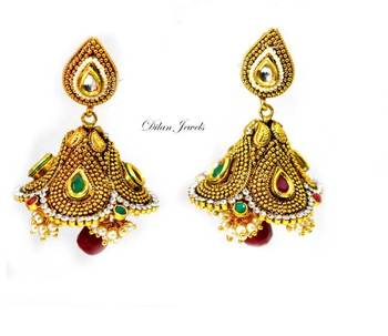 Golden Jhumka