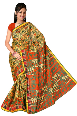 cotton blend with silk traditional gadwal sarees