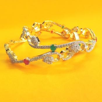 S Shaped Bracelet Bangles