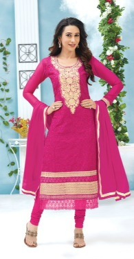 Karishma Kapoor Awesome Designer Straight Suit