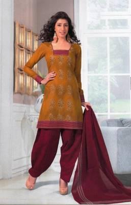 Dress material cotton designer prints unstitched salwar kameez suit d.no SG416
