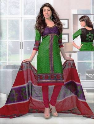 Dress material cotton designer prints unstitched salwar kameez suit d.no SG420