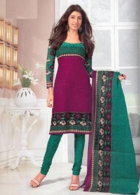 Dress material cotton designer prints unstitched salwar kameez suit d.no SG437