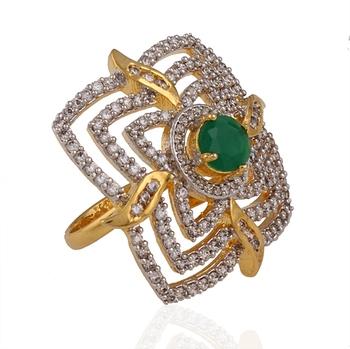 Amazing american diamond ring