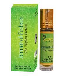 Buy Jannat-Ul- Firdous Apparel Concentrated Attar Perfume (8ml Rollon free From Alcohol) attar online