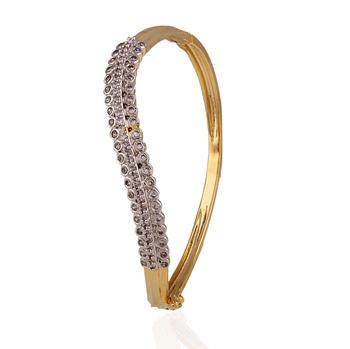 Niche american diamond bracelet