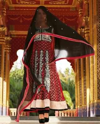 Party Wear Designer Long Anarkali..