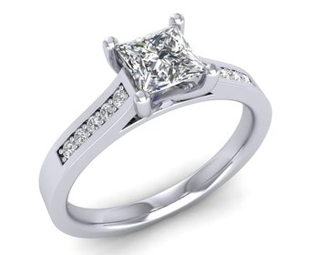 Micreation Brand New Cubic Zirconia Sterling Silver Ring Model No.MSR0004