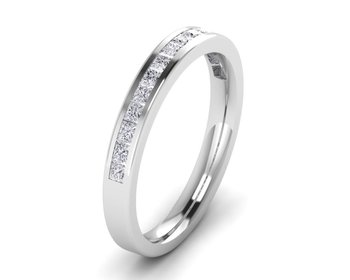 Micreation Brand New Cubic Zirconia Sterling Silver Ring Model No.MSR0029