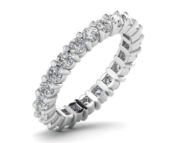 Micreation Brand New Cubic Zirconia Sterling Silver Ring Model No.MSR0046