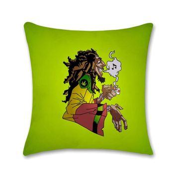 Bluegape Bob Marley Cartoon Cushion Cover Bluegape 189508