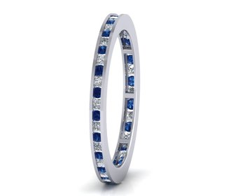 Micreation Brand New Cubic Zirconia Sterling Silver Ring Model No.MSR0114