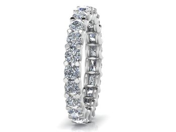 Micreation Brand New Cubic Zirconia Sterling Silver Ring Model No.MSR0125