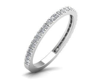Micreation Brand New Cubic Zirconia Sterling Silver Ring Model No.MSR0136
