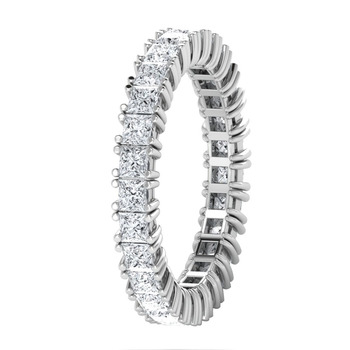 Micreation Brand New Cubic Zirconia Sterling Silver Ring Model No.MSR0143