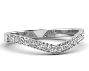 Micreation Brand New Cubic Zirconia Sterling Silver Ring Model No.MSR0144