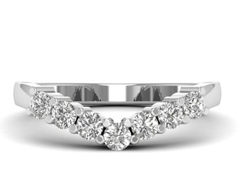 Micreation Brand New Cubic Zirconia Sterling Silver Ring Model No.MSR0155