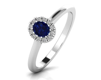 Micreation Brand New Cubic Zirconia Sterling Silver Ring Model No.MSR0172