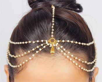 Pearl golden Chain Exclusive designer classic pretty Anklets