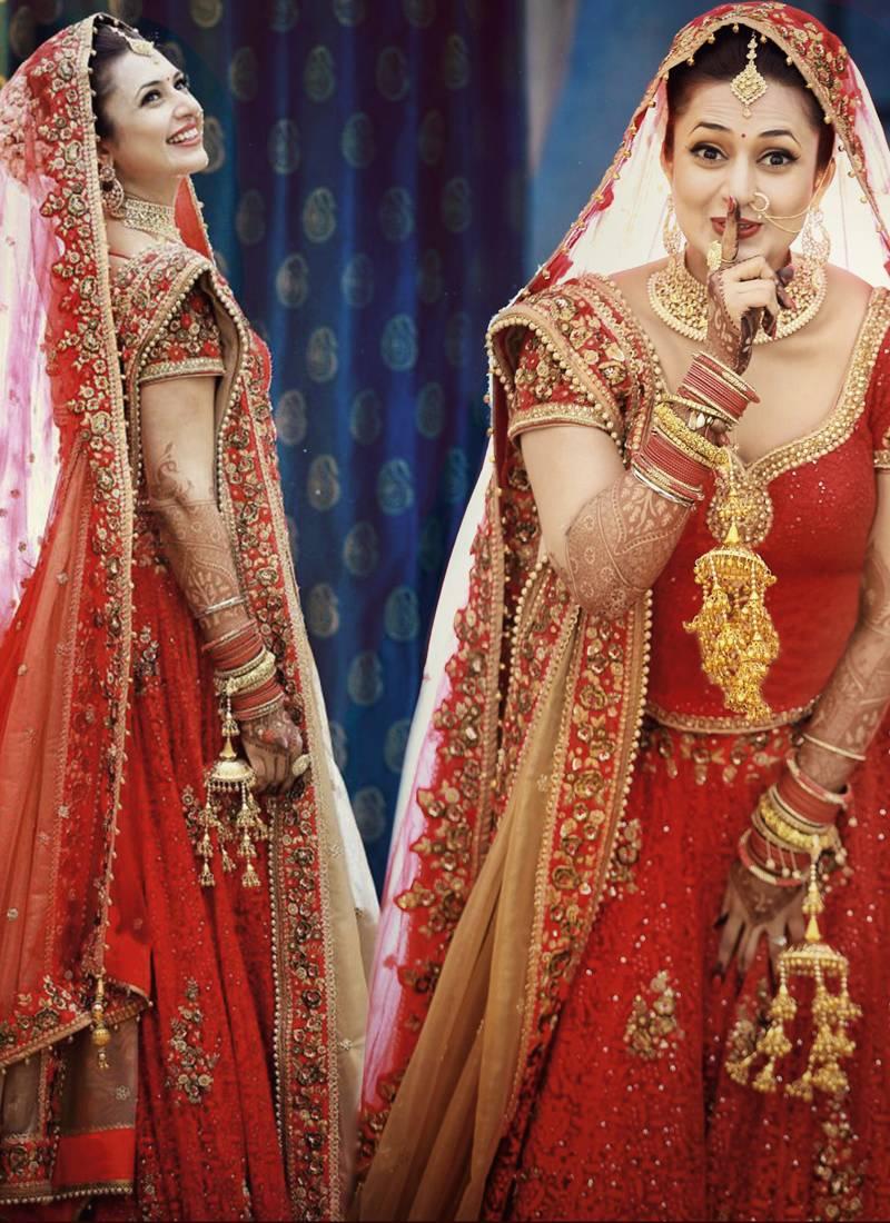 42aa16a3997 dark blood red embroidered net unstitched lehenga - Vasu Sarees ...