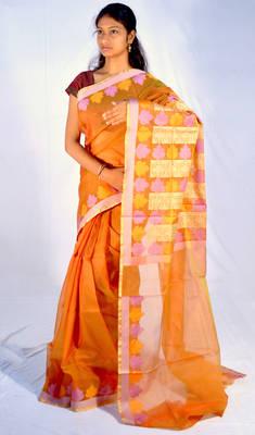 Organza banarasi Silk saree