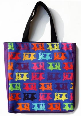 Multicolor Taxi's Tote Bag