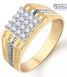 Buy Sukkhi Gold and Rhodium Plated CZ Ring for Men(101GRK600) gifts-for-him online