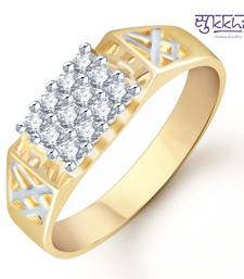 Buy Sukkhi Gold and Rhodium Plated CZ Ring for Men(115GRK450) gifts-for-him online