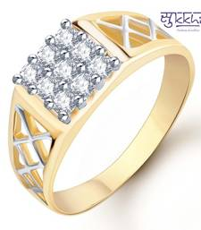 Buy Sukkhi Gold and Rhodium Plated CZ Ring for Men(116GRK420) fashion-deal online