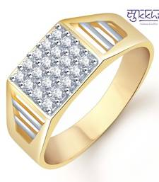 Buy Sukkhi Gold and Rhodium Plated CZ Ring for Men(119GRK590) gifts-for-him online