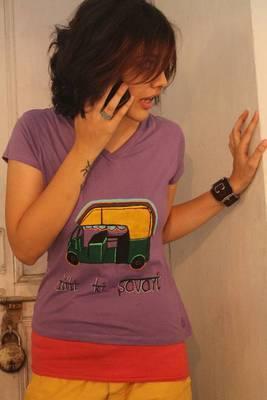 Dilli ki Sawari - Auto T-shirt